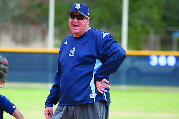 SJR State baseball coach Ross Jones (Daily News file photo)
