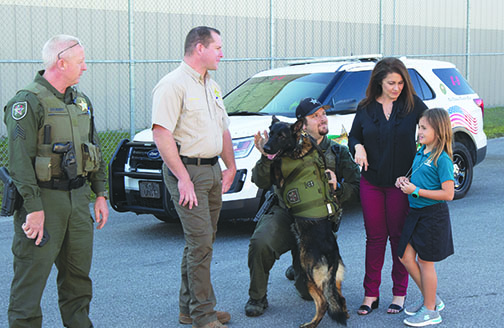New equipment has been installed in certain sheriff's office vehicles to better protect K-9 deputies.