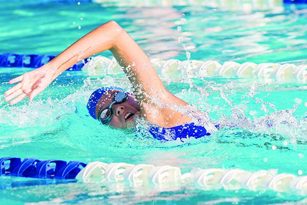 Lily Tallerico will swim the 100-yard freestyle and two relays for Palatka on Friday. (Daily News file photo)