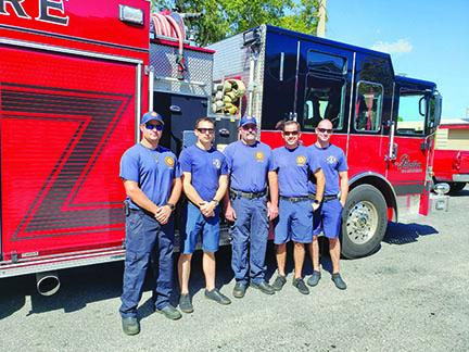 Members of the Palatka Fire Department