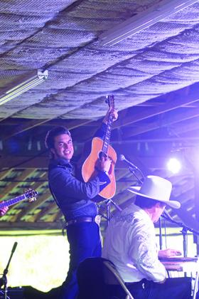 The Malpass Brothers Band performs during the Fall Palatka Bluegrass Festival.