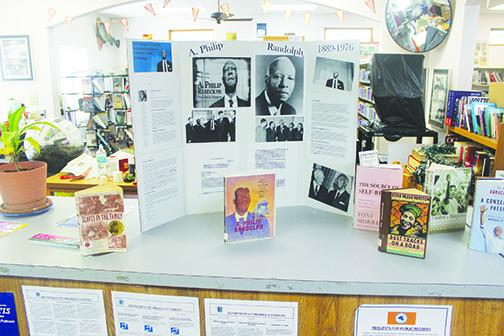 Putnam County native A. Philip Randolph, a civil rights leader who organized the March on Washington, has his picture on display at the Crescent City library for Black History Month.