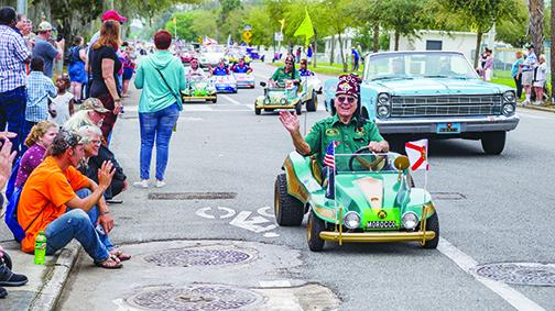 The Shriners were out in full force as they cruised down Main Street for the 2019 Florida Azalea Festival Parade. This year's parade is Saturday.