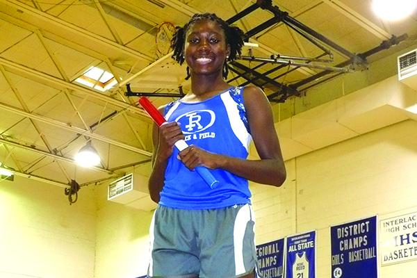 Interlachen's Reva Godbolt was the Daily News 2108 Girls Track Athlete of the Year. (MARK BLUMENTHAL / Palatka Daily News)