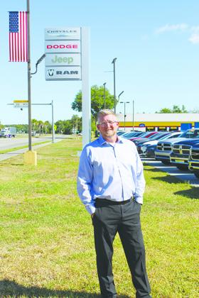 Jeremy Alexander has been named the new general manager of Beck Chrysler Dodge Jeep Ram in Palatka. Matt Buckles will continue in his role as general manager at Beck Chevrolet, while also overseeing sales operations at all Beck dealerships.
