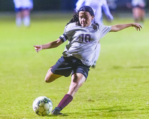 Jenny Galvan rewrote Putnam County soccer records – for boy and girls – at Crescent City.