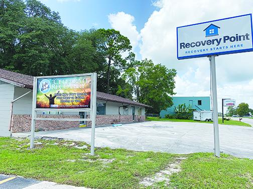 Recovery Point opened earlier this year, accommodating six men transition from drug use. Women's housing is planned to start in the fall.