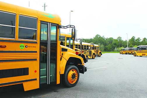 School district officials said there has been a decrease in ridership.
