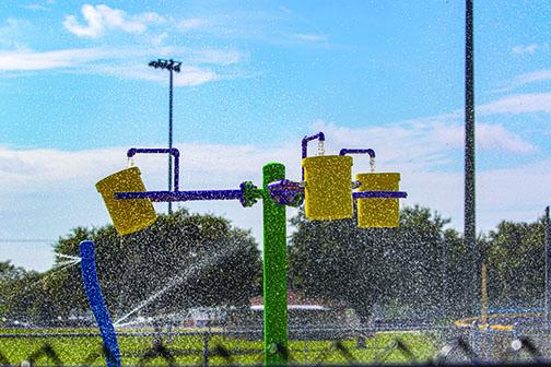 The splash pad at Project P.L.A.Y. in Palatka will be closed during the cooler months.