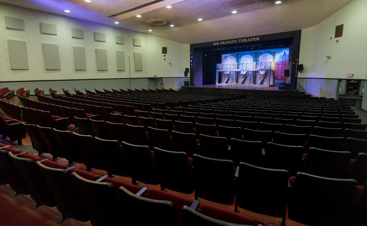 The C.L. Overturf Jr. Sixth Grade Center's auditorium was named the Jim Pignato Theater in 2013.