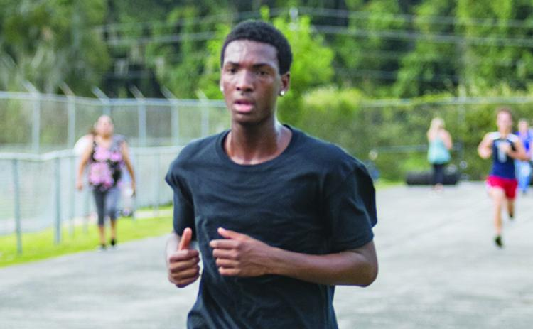 Palatka's James Bellamy led all county boys with a fourth-place time of 21:13 at the Raider Invitational on Thursday. (FRAN RUCHALSKI / Palatka Daily News)