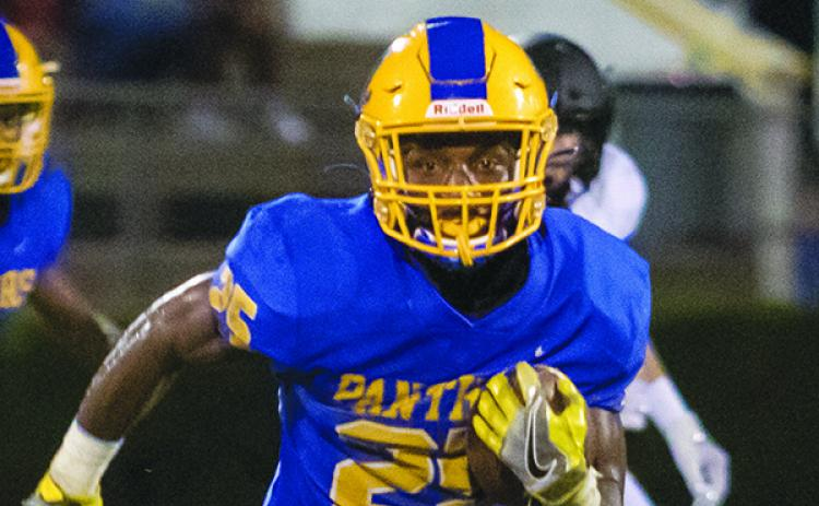 Palatka's Ke'shawn Hughes had seven catches for 135 yards and a 50-yard punt return. (FRAN RUCHALSKI / Palatka Daily News)
