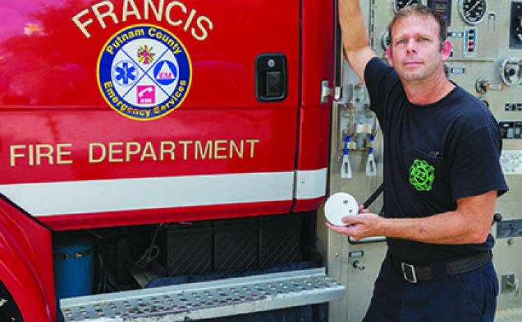 Firefighters will distribute smoke detectors and make fire escape plans to observe Fire Prevention Week.