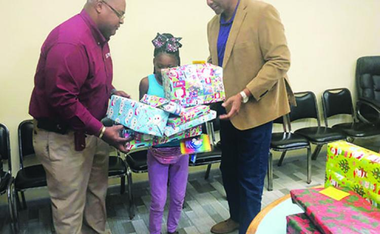 The Palatka Housing Authority hosts it annual toy giveaway.