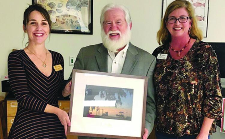 Sam Carr was recently named St. Johns River Advocate of the Year.
