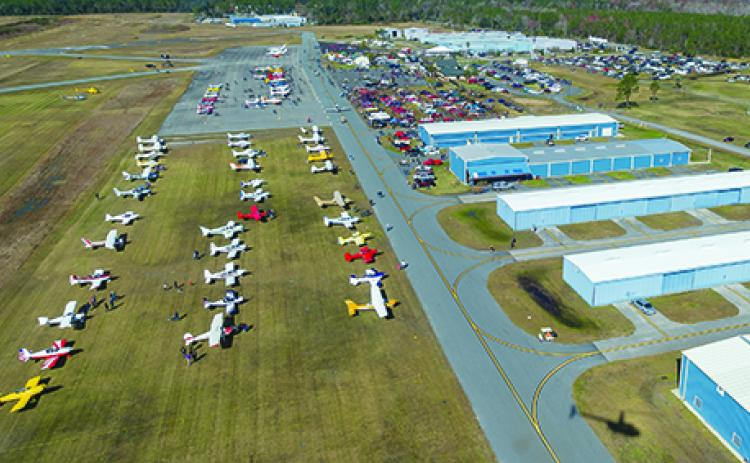Airport officials are gearing up for the upcoming fly-in.