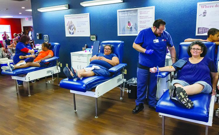 LifeSouth says it's in need of blood donors after the holiday season.