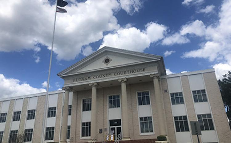 "The Putnam County Courthouse remains closed to the public Tuesday as the courts only handle ""mission critical"" cases."