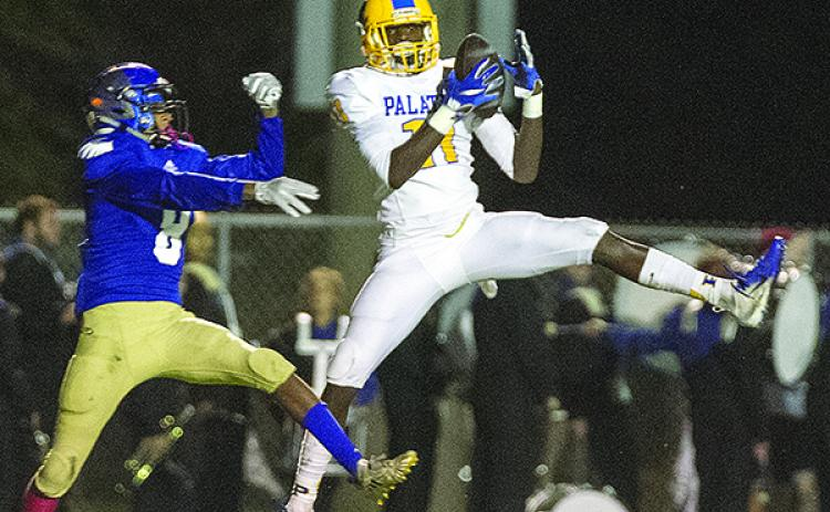 Wesley Roberts was a three-sport standout at Palatka High School in football, basketball and track. (Daily News file photo)