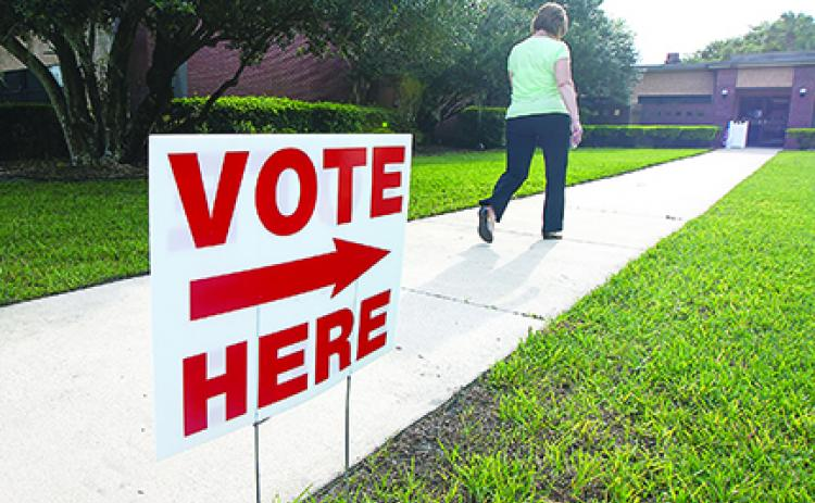 As of Thursday, 44% of eligible voters had cast their ballots, whether by mail or in person.