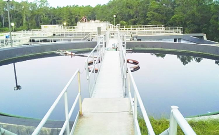The Platt Drew Wastewater Treatment Plant in Palatka.